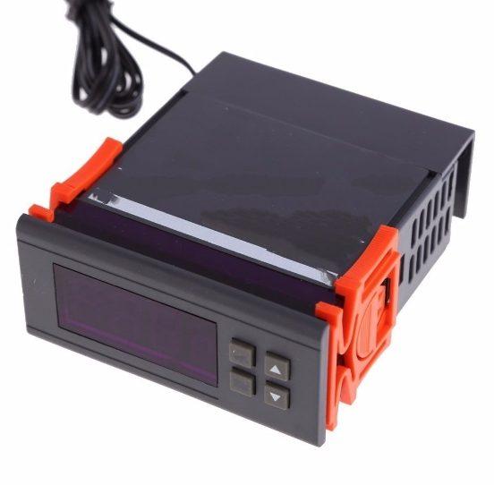Regulátor teploty WH7016C s LCD displejem na 50~110℃ DC 24V