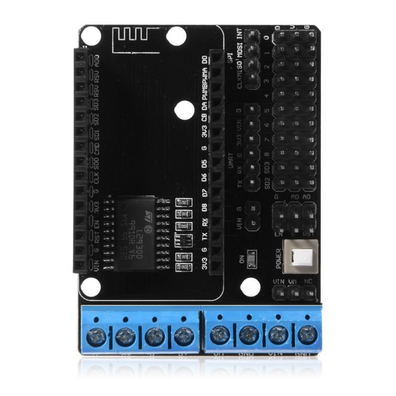 Shield L293d ESP8266 Wifi motor Control Arduino NodeMcu Lua